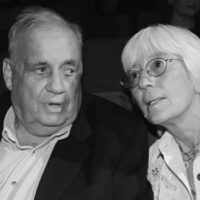 Эльдар Рязанов с женой Эммой.