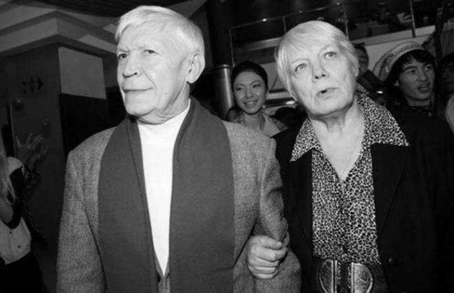 Иван Бортник с женой