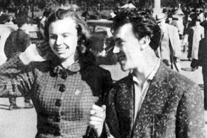 Иза Высоцкая и Владимир Высоцкий
